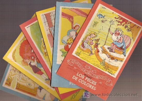 Libros antiguos: Manojo de cuentos / Dib. Ferrandiz . Serie A nº 8. Contiene 6 vols.+ estuche. Col.Campanillas. - Foto 2 - 16288900