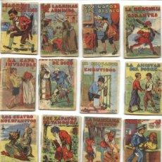 Libros antiguos: GRAN LOTE DE CUENTOS DE CALLEJA SE VENDEN SUELTOS. Lote 26293343