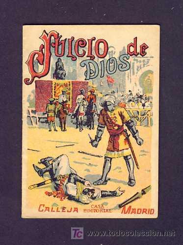 CUENTO DE CALLEJA: JUICIO DE DIOS. SERIE RECREO INFANTIL, 7 X 10 CMS (SERIE XI NUM.206) (Libros Antiguos, Raros y Curiosos - Literatura Infantil y Juvenil - Cuentos)
