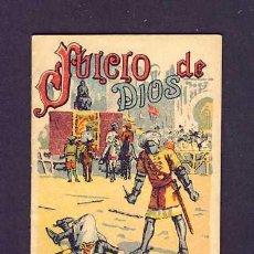 Libros antiguos: CUENTO DE CALLEJA: JUICIO DE DIOS. SERIE RECREO INFANTIL, 7 X 10 CMS (SERIE XI NUM.206). Lote 6145218