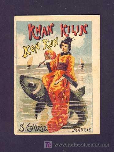 CUENTO DE CALLEJA: KHAN KILIN KON KUN. SERIE RECREO INFANTIL, 7 X 10 CMS (SERIE VIII NUM.155) (Libros Antiguos, Raros y Curiosos - Literatura Infantil y Juvenil - Cuentos)