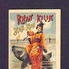 Libros antiguos: CUENTO DE CALLEJA: KHAN KILIN KON KUN. SERIE RECREO INFANTIL, 7 X 10 CMS (SERIE VIII NUM.155). Lote 6145238