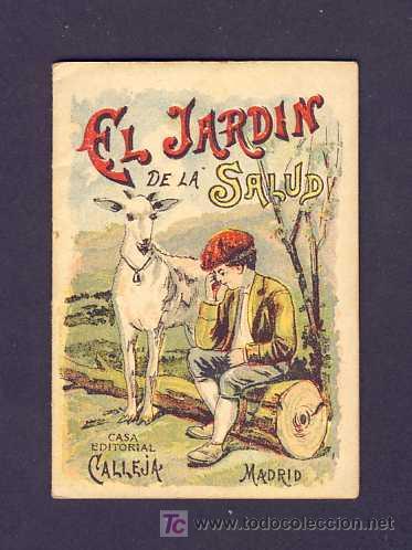 CUENTO DE CALLEJA: EL JARDIN DE LA SALUD. SERIE RECREO INFANTIL, 7 X 10 CMS (SERIE IX NUM.161) (Libros Antiguos, Raros y Curiosos - Literatura Infantil y Juvenil - Cuentos)