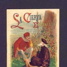 Libros antiguos: CUENTO DE CALLEJA: LA CIERVA ENCANTADA. SERIE BIBL.CUENTOS PARA NIÑOS, 10 X 14'5 CMS (TOMO 46). Lote 6145442