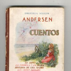 Libros antiguos: CUENTOS DE ANDERSEN. Lote 26751089
