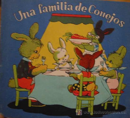una familia de conejos dibujos de jferrandiz  Comprar Libros