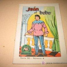 Libros antiguos: JUAN EL BOBO .COLECCION TESORO DE CUENTOS EDIT.BRUGUERA.SERIE 30-Nº4. Lote 6377264