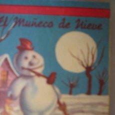 Libros antiguos: EL MUÑECO DE NIEVE. CUENTO MINIATURA Nº72. EDITORIAL FHER. Lote 6482717