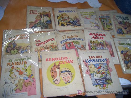 CUENTOS ILUSTRADOS -RAMON SOPENA - LOTE - (Libros Antiguos, Raros y Curiosos - Literatura Infantil y Juvenil - Cuentos)