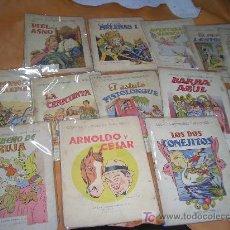 Libros antiguos: CUENTOS ILUSTRADOS -RAMON SOPENA - LOTE -. Lote 6453881