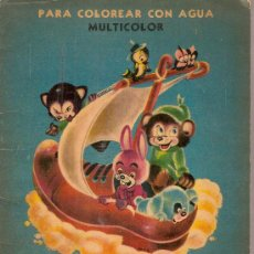 Libros antiguos: COLORIN PARA COLOREAR CON AGUA. BS AS : CODEX, 1948.28 X 19 CM. 14 P.. Lote 21969956