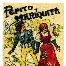 Libros antiguos: CUENTO CALLEJA PEQUEÑO, PINOCHO, PEPITO Y MARIQUITA, T182. Lote 6944509