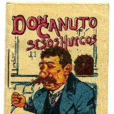 Libros antiguos: CUENTO CALLEJA PEQUEÑO, PINOCHO, DON CANUTO SESOS HUECOS, T281. Lote 6947862