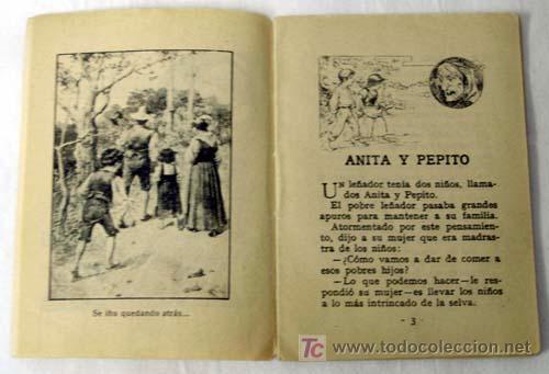 Libros antiguos: Cuento Calleja Anita y Pepito - Foto 2 - 7007506