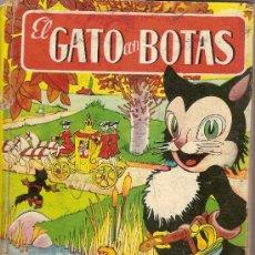 Libros antiguos: EL GATO CON BOTAS / IL. SALVADOR MESTRES. BARCELONA : BRUGUERA. 22X16 CM. 26 P.IL. Lote 21827569