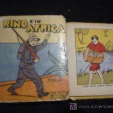 Libros antiguos: RINO EN AFRICA CASA ED. CARROCCIO. 54 PAGINAS.. Lote 26718763