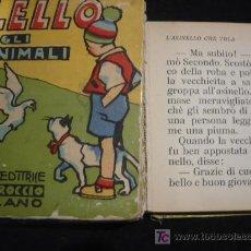 Libros antiguos: LELLO E GLI ANIMALI ED. CARROCCIO. MILANO. 1834. Lote 25670760