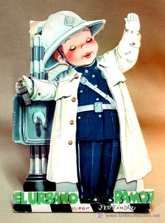 EL URBANO RAMON, CON SU SILVATO, CUENTO TROQUELADO, JUAN FERRANDIZ, VILCAR 1953 (Libros Antiguos, Raros y Curiosos - Literatura Infantil y Juvenil - Cuentos)