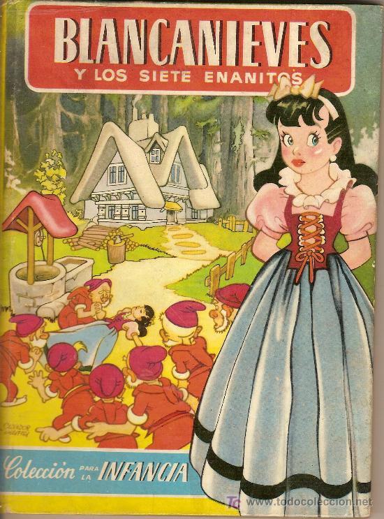 BLANCANIEVES Y LOS SIETE ENANITOS / ADAP. M. AMAT; DIB. SALVADOR MESTRES. BARCELONA : BRUGUERA. (Libros Antiguos, Raros y Curiosos - Literatura Infantil y Juvenil - Cuentos)