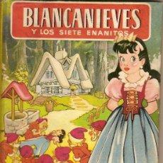 Libros antiguos: BLANCANIEVES Y LOS SIETE ENANITOS / ADAP. M. AMAT; DIB. SALVADOR MESTRES. BARCELONA : BRUGUERA.. Lote 7644908