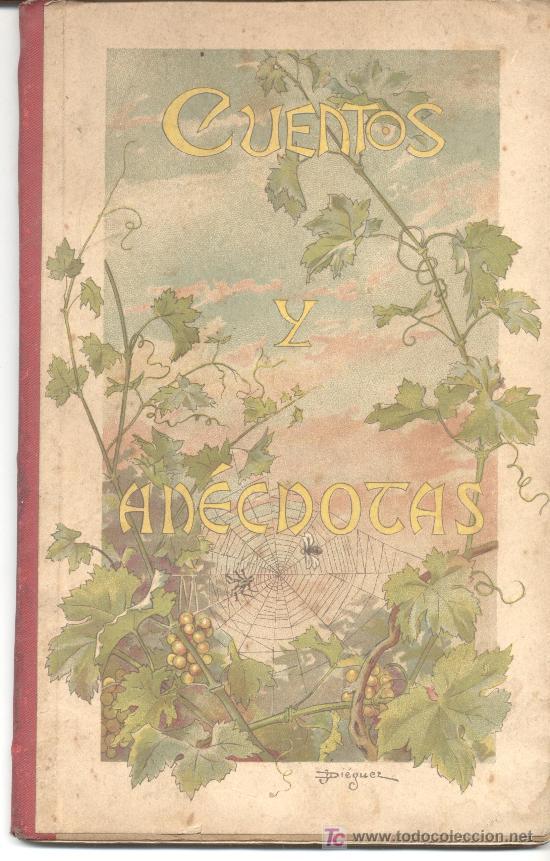 CUENTOS Y ANECDOTAS CARLOS ARAUJO 1896 (Libros Antiguos, Raros y Curiosos - Literatura Infantil y Juvenil - Cuentos)