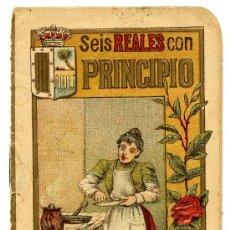 Libros antiguos: SEIS REALES CON PRINCIPIO - 1902 - SUCESORES DEL HERNANDO Y COMPAÑIA. Lote 26579173