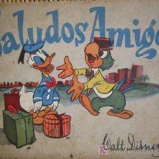 Libros antiguos: SALUDOS AMIGOS. WALT DISNEY. 1944. ILUSTRACIONES A COLOR Y EN NEGRO.. Lote 8008859