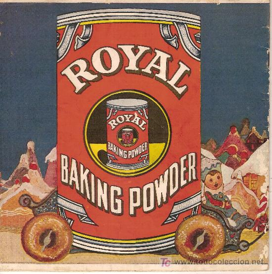 Libros antiguos: The Little Gingerbread Man. New York : Royal Baking Powder Co, 1923. 18x18cm. 14 p. - Foto 3 - 27397802