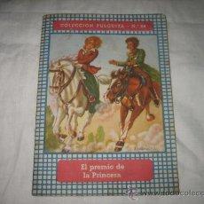 Libros antiguos: EL PREMIO DE LA PRINCESA COLECCION PULGUITA Nº 20 EDIT ROMA DISEÑO PORTADA FERRANDIZ. Lote 8745159