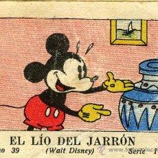 Libros antiguos: WALT DISNEY.- EL LIO DEL JARRON, TOMO 39, SERIE II. EDIT. CALLEJA 1942. Lote 20813900