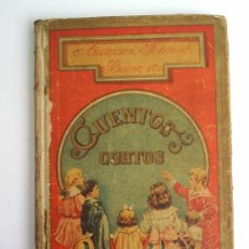 Libros antiguos: CUENTOS CORTOS-HIJOS DE SANTIAGO RODRIGEZ -BURGOS. Lote 26473925