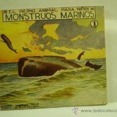 Libros antiguos: EL REINO ANIMAL PARA NIÑOS MARINOS (VOL1) EDITORIAL SOPENA BARCELONA. Lote 14763667