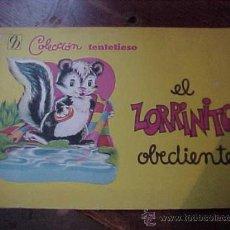 Libros antiguos: EL ZORRINITO OBEDIENTE. EDT. BRUGUERA ARGENTINA, COL. TENTETIESO Nº 6 *. Lote 205091881