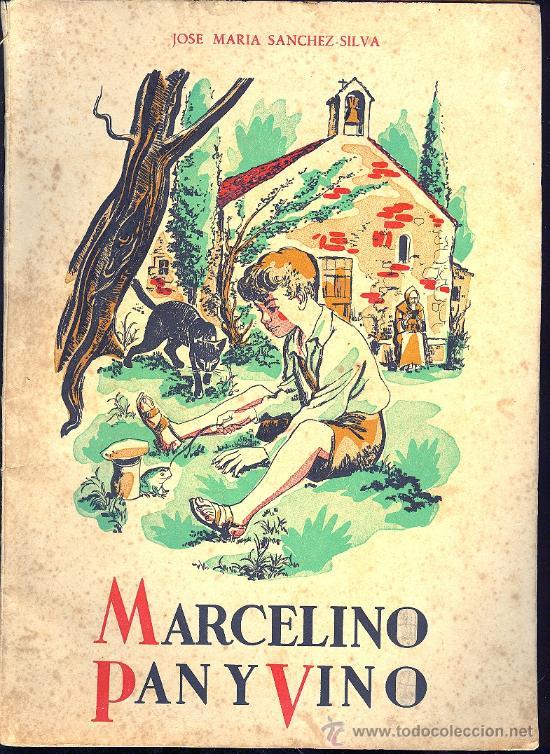 MARCELINO PAN Y VINO. JOSE MARIA SANCHEZ - SILVA. ED. CIGUEÑA. 9º ED. 7 PAGS. 9 X 11´5 CM. (Libros Antiguos, Raros y Curiosos - Literatura Infantil y Juvenil - Cuentos)