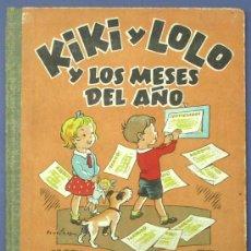 Libri antichi: KIKI Y LOLO Y LOS MESES DEL AÑO. LIBRO DE IMÁGENES. ILUSTRACIONES DE BENEJAM. EDITORIAL ROMA, S/F.. Lote 13289969