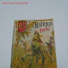Libros antiguos: CUENTO CALLEJA EL BURRO POETA. Lote 26907552