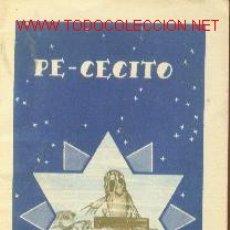 Libros antiguos: PE-CECITO (MADRID, 1935) EDITORIAL CALLEJA. COLECCION COLORÍN Nº 7. Lote 22886163