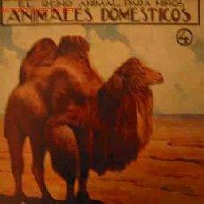 Libros antiguos: ANIMALES DOMESTICOS, 4. Lote 16075476