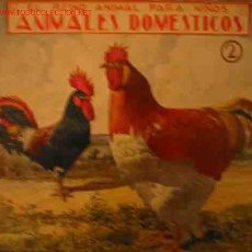 Libros antiguos: ANIMALES DOMESTICOS, 2. Lote 23099639