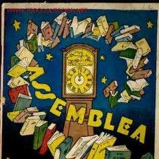 Libros antiguos: ASSEMBLEA MISTERIOSA. JESÚS R. COLOMA.. Lote 3532065