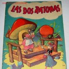 Libros antiguos: ANTIGUO CUENTO - LAS DOS RATONAS - 1950 - ALBUMES INFANTILES Nº 19 . EDITORIAL SIGMAR - MIDE 28 X 18. Lote 1894365