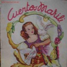 Libros antiguos: CENICIENTA. CUENTOS MARILI. ED. J.L.AGUILAR Y Cª. Lote 24400126