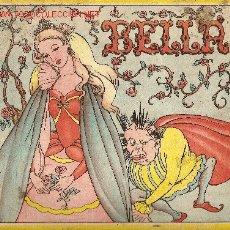 Libros antiguos: BELLA. BARCELONA : EDICIONES REDECILLA. 24 X 23 CM. 6 P.. Lote 4894276