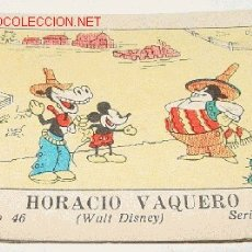 Libros antiguos: ANTIGUO CUENTO MICKEY MOUSE - TOMO 46 SERIE III - WALT DISNEY - AÑO 1942 - 16 PAG - MIDE 7,5 X 5,5 C. Lote 2259334