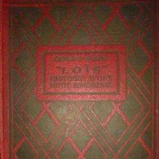 Libros antiguos: LOÏS, HISTOIRE D'UNE PETITE BOHÉMIENNE. AUT: CHATRIAN ERCKMANN. 1934. Lote 25212835