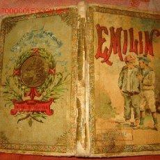 Libros antiguos: EMILIN - MUSEO DE LA INFANCIA- CUENTOS MORALES - AÑO 1903. Lote 16778966