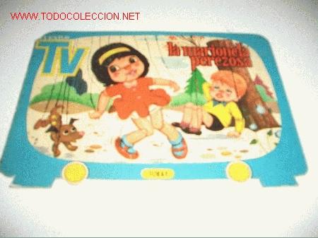 CUENTOS TELEVISION TROQUELADO (Libros Antiguos, Raros y Curiosos - Literatura Infantil y Juvenil - Cuentos)