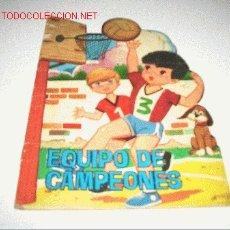 Libros antiguos: CAMPEONES TROQUELADO. Lote 2640790