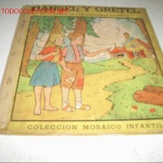 Libros antiguos: HANSELY GRETEL. Lote 2641675
