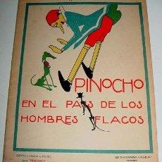 Libros antiguos: PINOCHO Y EL PRINCIPE BUENO - Nº39 - DE LA SERIE PINOCHO Y PINOCHO CONTRA CHAPETE - CUENTOS DE CALLE. Lote 13723584